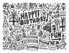 doodle happy birthday doodle doodling