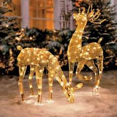 Reindeer Decorations Outdoor by 1000 Images About Outdoor Decorations On
