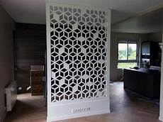 brise vue mural claustra bois polaris