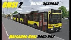 Omsi 2 Mercedes O405 Gn2 Berlin Spandau Line 130
