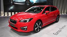 Subaru Impreza 2018 - 2018 subaru impreza hatchback motor1 photos