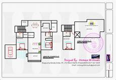 kerala model house plan kerala model villa with open courtyard home kerala plans