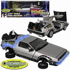 delorean modell schwebend back to the future ii delorean cool samlarpryl