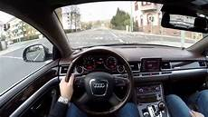 audi a8l 6 0 w12 2008 test drive country road