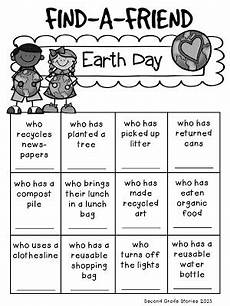free earth day worksheets for 2nd grade earth day freebie second grade stories