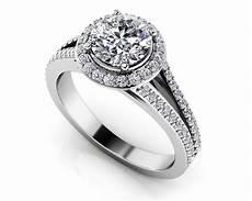 elegant split shank diamond engagement ring roco s