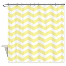 Pale Yellow Shower Curtain