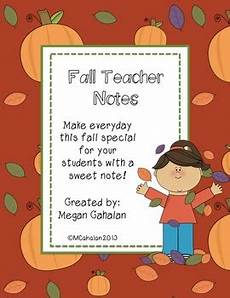 Thanksgiving Note Card For Teachers Template by Fall Notes Autumn Thanksgiving