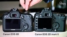 canon eos 6d e eos 5d ii confronto estetica e