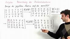 kap1 aufgabe 1 berechnung der normierten zeilenstufenform