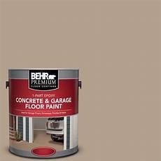 paint color washed khaki behr premium 1 gal pfc 33 washed khaki 1 part epoxy concrete and garage floor paint 90001