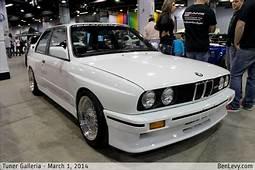 White E30 BMW M3  BenLevycom