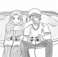 Gambar Kartun Pernikahan Islami Romantis Free Photos