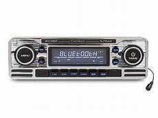 classic car retro style chrome car cd player bluetooth fm