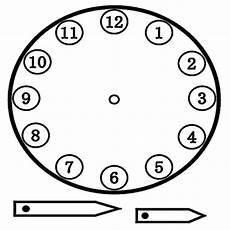 Uhr Malvorlagen Ausmalbilder Ausschneiden Uhr 4 Ausmalbilder Malvorlagen