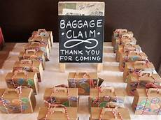bon voyage 30th birthday party favors see more party planning ideas at catchmyparty com in