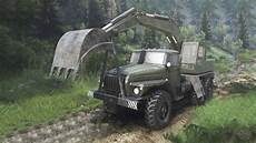 ural 4320 with new loaders 08 11 15 for spin tires