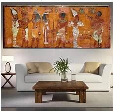 Große Wohnzimmer Le - 196 gyptischen dekor leinwand malerei 214 lgem 228 lde wandbilder