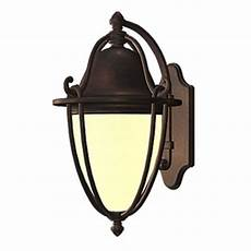shop allen roth portage 11 75 in h bronze outdoor wall light at lowes com