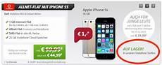 iphone 5s mit vertrag f 252 r 1 monatlich nur 44 99