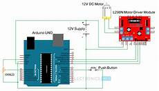 Dc Motor Wiring Diagram And Connection by Arduino Dc Motor Using L298n Motor Driver Pwm