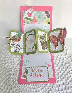 pop and twist card template painted mountain cards friendship twist panel pop up
