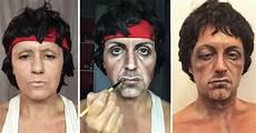 Makeup Artist Looks Like makeup artist transforms into any she wants