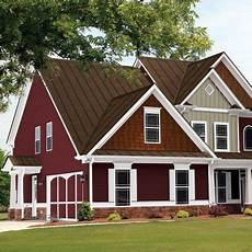 exterior paint color with white trim paint roof slate grey taste of burgundy exterior