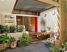 Ide Desain Teras Rumah Kreatif Dan Unik Rancangan Desain