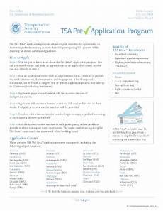 tsa precheck form tsa online formpdffillercom fill online printable fillable blank pdffiller