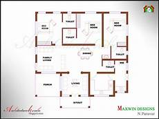 three bedroom house plan in kerala 3 bhk single floor kerala house plan and elevation