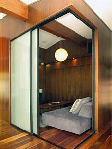 schiebetür als raumtrenner sliding doors as room divider more privacy in the small