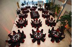 black and red wedding reception st pete museum of fine arts black red halloween themed