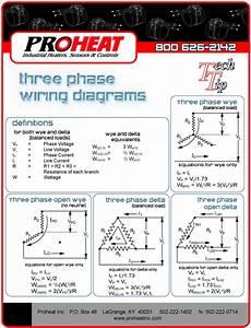 three phase wiring diagrams proheat inc 502 222 1402