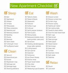 Apartment Must Haves Checklist by Free 5 New Apartment Checklist Sles In Docs