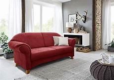 cavadore 2 sitzer sofa maifayr mit federkern kleine