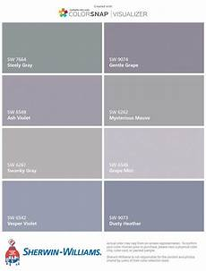 paint colors grey purple paint color ideas