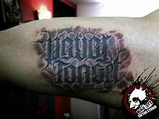 Arm Lettering 3d By Mad