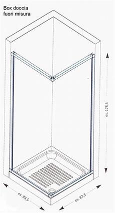 misure box doccia standard dimensioni doccia standard termosifoni in ghisa scheda