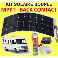 kit pose solaire kit solaire souple back contact et mppt 120w pour cing car