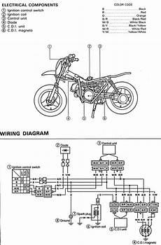 yamaha dirt bike wiring diagram motorcycle awesomeness pinterest dirt bikes and bikes