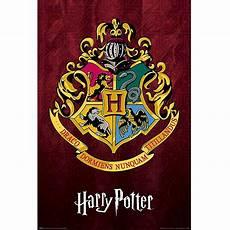 Harry Potter Wappen Malvorlagen Harry Potter Hogwarts Wappen Poster Fruugo