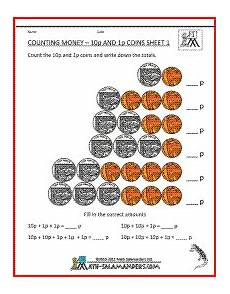 teaching money worksheets uk 2804 counting money 1p and 10p with uk coins 1st grade math worksheets money worksheets