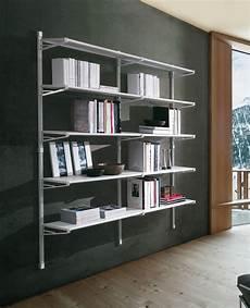 mensole per libreria marius libreria per ufficio design in acciaio 196x196 cm