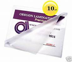 10 mil laminating pouches 100 9 11 1 2 letter clear ebay