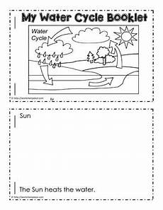 water cycle booklet worksheets