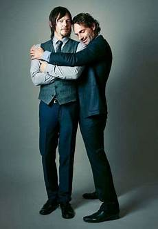 Norman Reedus Frau - andrew lincoln and norman reedus bromance photo gallery