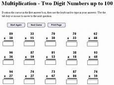 5th grade math worksheet multiplication digit multiplication worksheets free 5th grade
