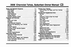 book repair manual 2006 chevrolet suburban user handbook 2006 chevrolet suburban owners manual just give me the damn manual