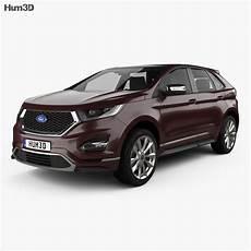 ford edge vignale 2016 3d model vehicles on hum3d